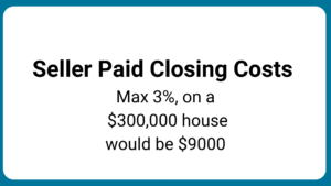 seller paid closing cost limits